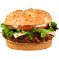 Wendy's Black Bean Burger