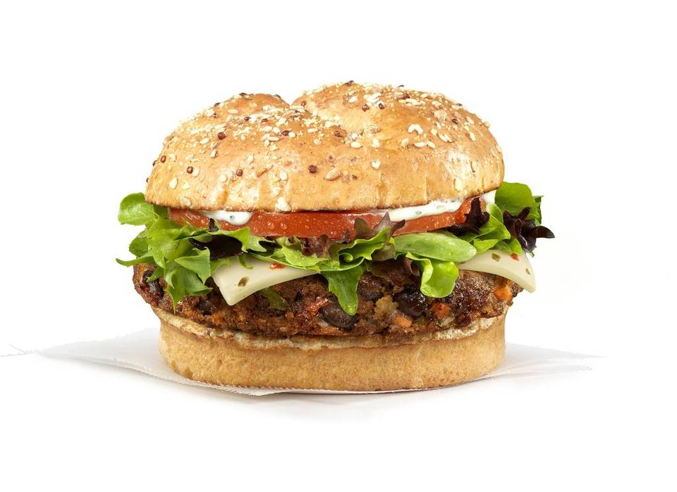 Rice And Bean Burger Recipe — Dishmaps